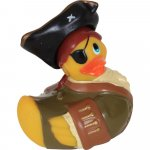 I Rub My Duckie Travel Size Massager - Pirate Sex Toy
