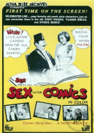 Sex in the Comics Porn Movie