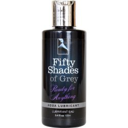 Fifty Shades Of Grey Offical Collection: Aqua Lubricant - 3.4oz Sex Toy