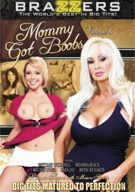 Mommy Got Boobs Vol. 6 DVD Image from Brazzers.