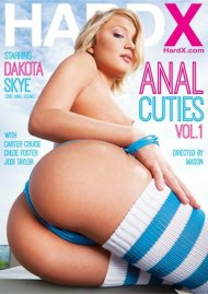 Anal Cuties Vol. 1 DVD Image from HardX.