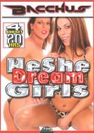 HeShe Dream Girls 4-Pack Porn Movie