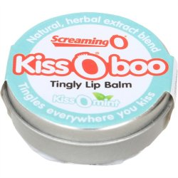Kiss O Boo Tingly Lip Balm - Peppermint  Image