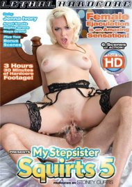 My Step Sister Squirts 5 DVD Image from Lethal Hardcore.