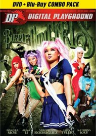 Bubblegum Girls (DVD + Blu-ray Combo) DVD Image from Digital Playground.