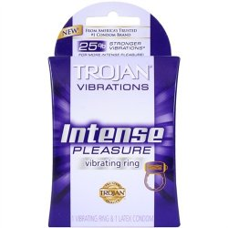 Trojan Vibrations - Instense Pleasure Ring Sex Toy