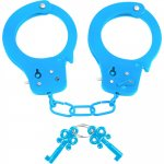 Neon Fun Cuffs - Blue Sex Toy