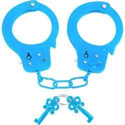 Neon Fun Cuffs - Blue Sex Toy