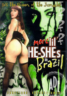 More Lil He-Shes in Brazil Porn Movie
