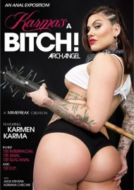 The Karma's A Bitch! DVD Image from ArchAngel.