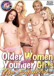 Older Women with Younger Girls: The Squirters Porn Video