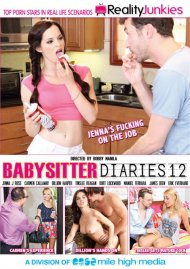 Babysitter Diaries 12 DVD Box Cover Image