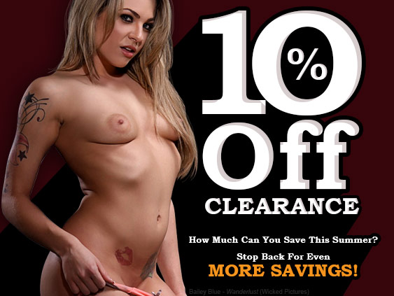 Save 10% on select porn movie titles.