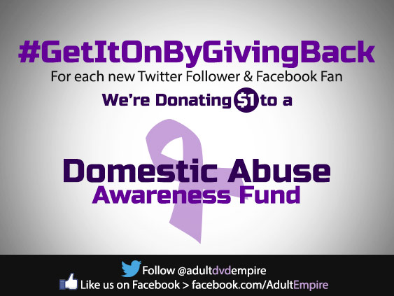 Adult DVD Empire raises money to fight domestic abuse.