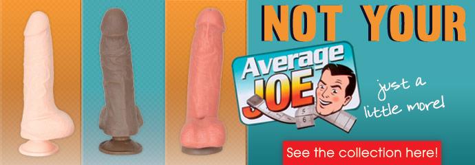 Buy Average Joe sex toys.
