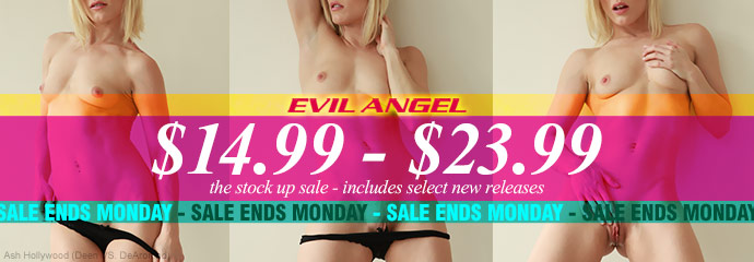 Shop Evil Angel DVD porn movies at a discount.