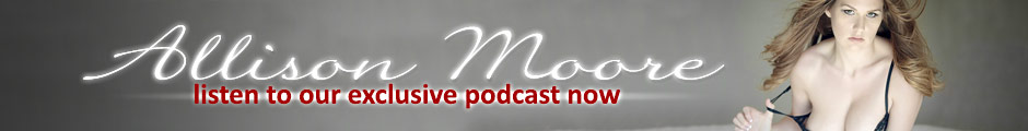 Listen now, Allison Moore Podcast.