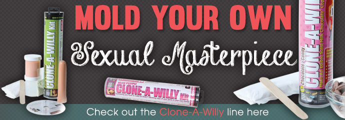 Buy Clone-A-Willy sex toys.
