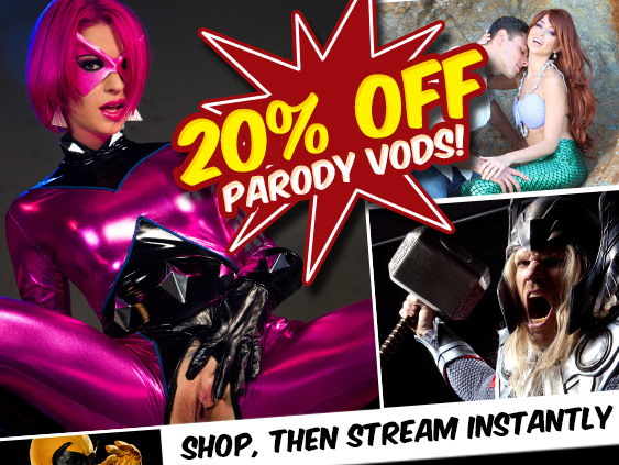 Shop Parody VOD streaming porn videos at a discount.