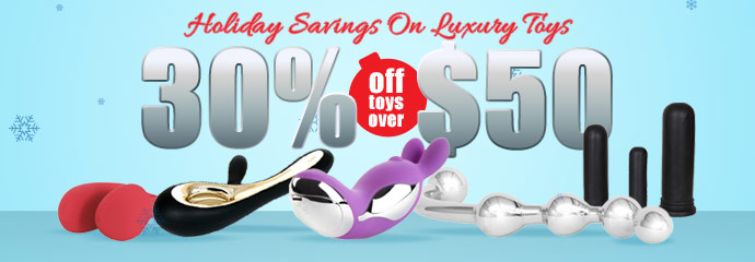 Buy luxury sex toys at 30% off.