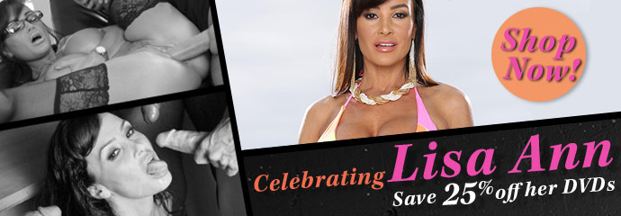 Shop Lisa Ann porn movies on sale now.