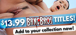 Shop Bang Bros. DVD porn movies at a discount.