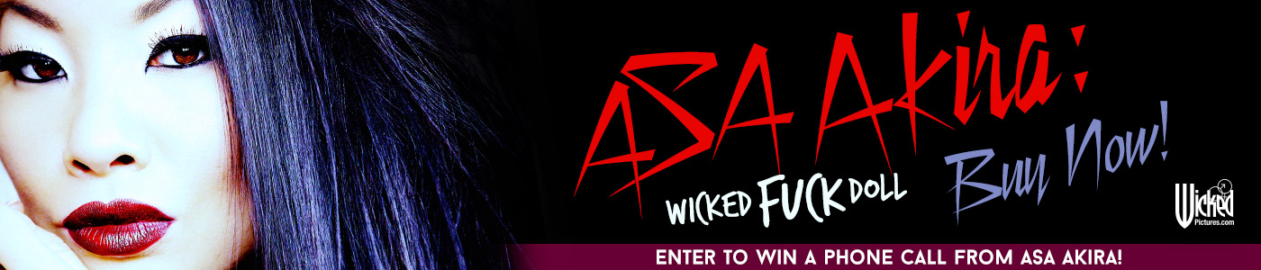 Win a phone call with Asa Akira.