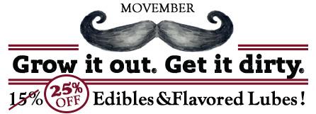 Movember sale image.