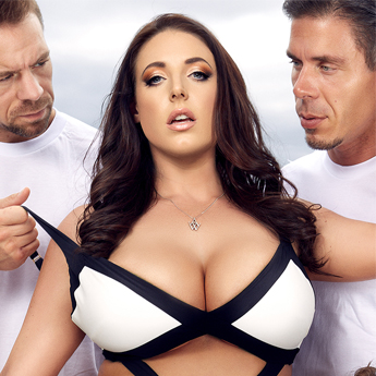 Angela White stars in bestseller DVD Angela Vol. 2.