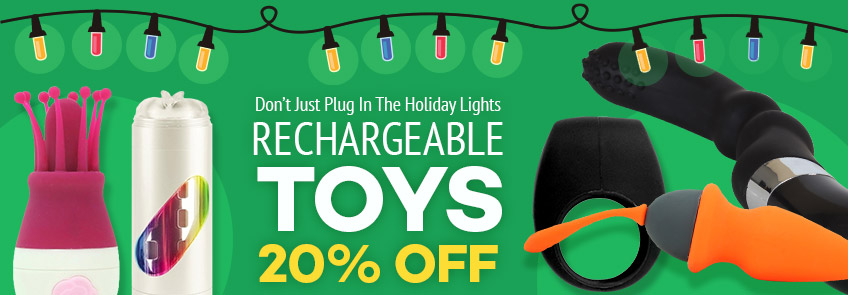 Browse rechargeable sex toys.